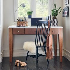 Working from home with a view can be easy with our small space solutions. Shown here in 530 Cherry Autumn, the possibilities are endless! #waypointlivingspaces #kitchencabinets #CherryAutumn Maple Cabinets, Cherry Cabinets, Kitchen Cabinets, Work From Home Moms, Make Money From Home, Small Space Solutions, Working Area, Cabinet Doors, Office Desk