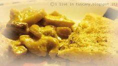 I live in Tuscany: Porcini e petto di pollo in crema di uovo