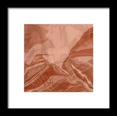 Neutral Territory Framed Print By Elva Robinson