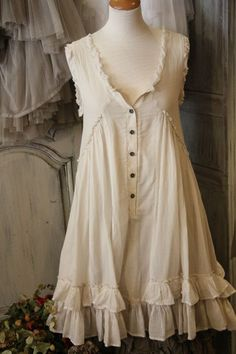 romantic cotton dress
