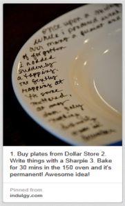 plate decorating pinterest