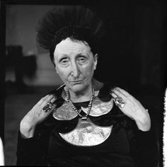Edith Sitwell by Jane Bown