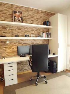 Corner House, Corner Desk, Magenta, Study Rooms, Home Office Design, Office Desk, Playroom, Living Room, Furniture