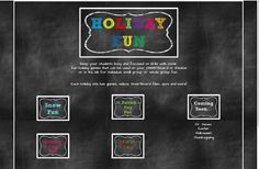 technology rocks. seriously.: Holiday Fun Site with links to all holiday sites!