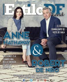 Anne Hathaway, Culture, Movies, Movie Posters, Stars, Robert De Niro, Guanajuato, Illusions, Cover Pages