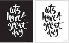 Handlettering by Courtney Shelton | HIBRID #handlettering #typography #brush