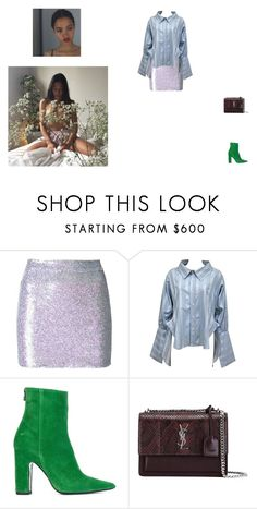 """#329"" by s-diana-s ❤ liked on Polyvore featuring Ashish, Vivienne Westwood, Barbara Bui and Yves Saint Laurent"
