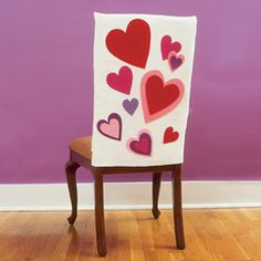 Valentine Chair Covers DIY