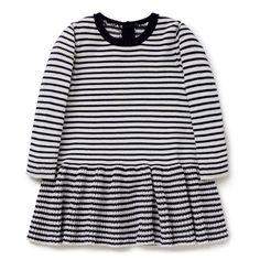 Shop now: Stripe Knit Dress. #seedheritage #seedbaby