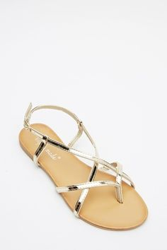 Strappy Basic Sandals - 3 Colours - Just £5  Sandals | Shoes | Summer