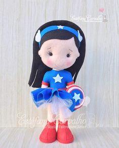 Felt Dolls, Felting, Smurfs, Avengers, Crafts, Fictional Characters, Baby Dolls, Ideas, Manualidades