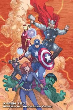 Avengers Art Takes on the Masters