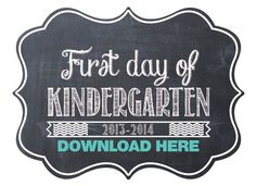 Free Back to School Printables | OhSoPrintable
