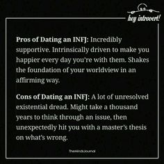 Infj dating issues