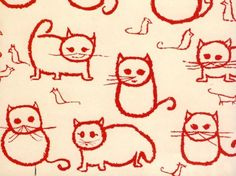 Cats and Mice – Florence Broadhurst