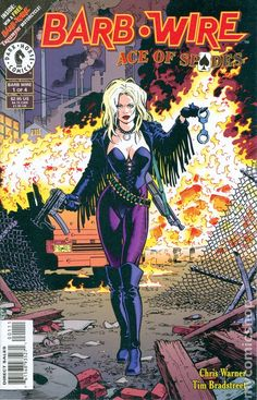 barb wire comics | Barb Wire Ace of Spades (1996) comic books