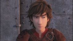 Hiccup has the best facial expressions, no matter what mood he is in. Lol. :)