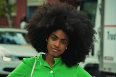 Now that's an Afro!!