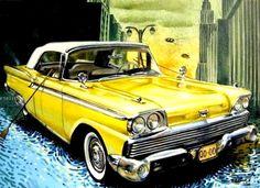 carro amarillo.