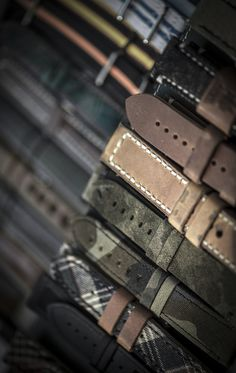 Maurice de Maruac high-quality leather and fabric watch straps. Swiss luxury watches and accessories. Swiss Luxury Watches, Swiss Made Watches, Watch Straps, Fabric, Leather, Accessories, Tejido, Tela, Watch Bracelets