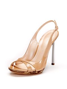 Patent Leather Metal Heel Sandal from Designer Steals: Shoes Feat. Brian Atwood on Gilt