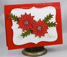 Peaceful Poinsettia---