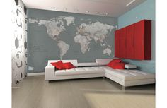11 best stuff to buy images on pinterest bedrooms refurbishment world map wall mural ft in x ft in mural wallpaper gumiabroncs Choice Image