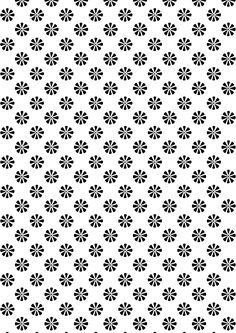 Free Digital Black And White Floral Scrapbooking Paper