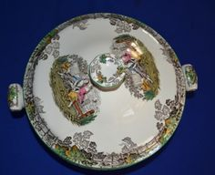 English Porcelain - Copeland Spode Spode's Byron Vegetable Tureen with lid for sale in Durban (ID:229067005)