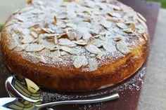 food on paper: Flourless Orange and Almond Cake