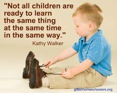 Learning doesn't happen in lockstep!