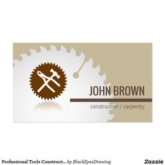Handyman business card samples pinterest free business cards professional tools construction carpentry handyman cheaphphosting Images
