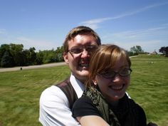 Whitney & Mark, ~ They are the next in line. They live in Utah and  have been married for five years.