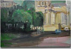 "Artist Jeanne De Buyser; Painting, ""Berlin"""