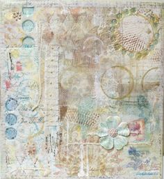 Hot Stamped Paper Collage at Art and Soul Retreat ... Rebekah Meier