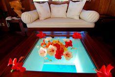 Renata Ortiz - Interior Design: Espetacular Hilton Bora Bora Nui Resort & Spa.