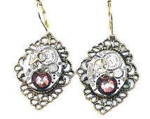 PS,Steampunk Earrings