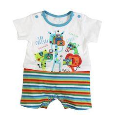 Baby Boy Romper - Bóboli Funny Animals  www.kidsandchic.com/baby-boy-romper-boboli-funny-animals.html  #boboli #romper #babyboy #kidsfashion #kidsclothing #trendychildren #babyclothes #babyfashion #baby #toddlerclothes #shoponline #shoppingbarcelona #SS2015 #ropaniños #niño