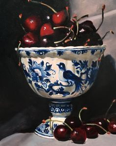Original Art, Paintings, Tableware, Dinnerware, Paint, Painting Art, Tablewares, Painting, Painted Canvas