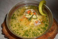 Retete Culinare - Ciorba de pui cu legume Romanian Food, Hummus, Thai Red Curry, Goodies, Meals, Chicken, Baking, Healthy, Ethnic Recipes