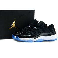 Air Jordan 11 Low black blue , Price: $70.35 - Air Jordan Shoes, Michael Jordan Shoes - HiJordan.com