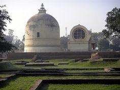 Nirvana Temple and Stupa in Kushinagar