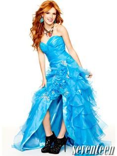 Bella Thorne's prom cover shoot!