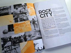 2 colour printing / montage  Huck - Issue 31 / Feb-Mar 2012