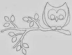 Santa Clara Artesanato: Moldes corujas