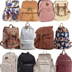 i love backpacks!