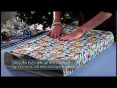 Wrapping Christmas Presents Tips Tutorials