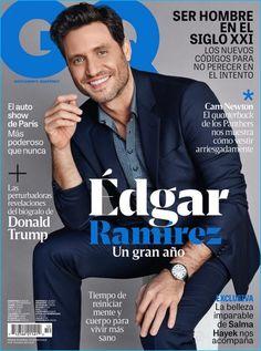 Edgar Ramirez Covers GQ Latin America, Dons Classic Designer Fashions