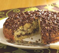 Chocolate Mexican Dessert Recipes | Mexican Chocolate Swirl Coffee Cake > Cooking Club of America