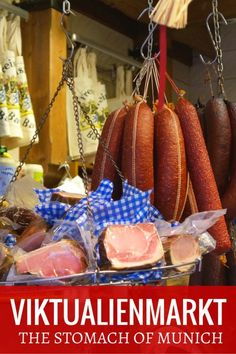 "Guide and tips for Viktualienmarkt which is the farmer's market and considered ""The Stomach of Munich"" with Kids 